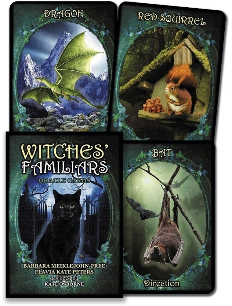 - Witches Familiars Oracle Cards