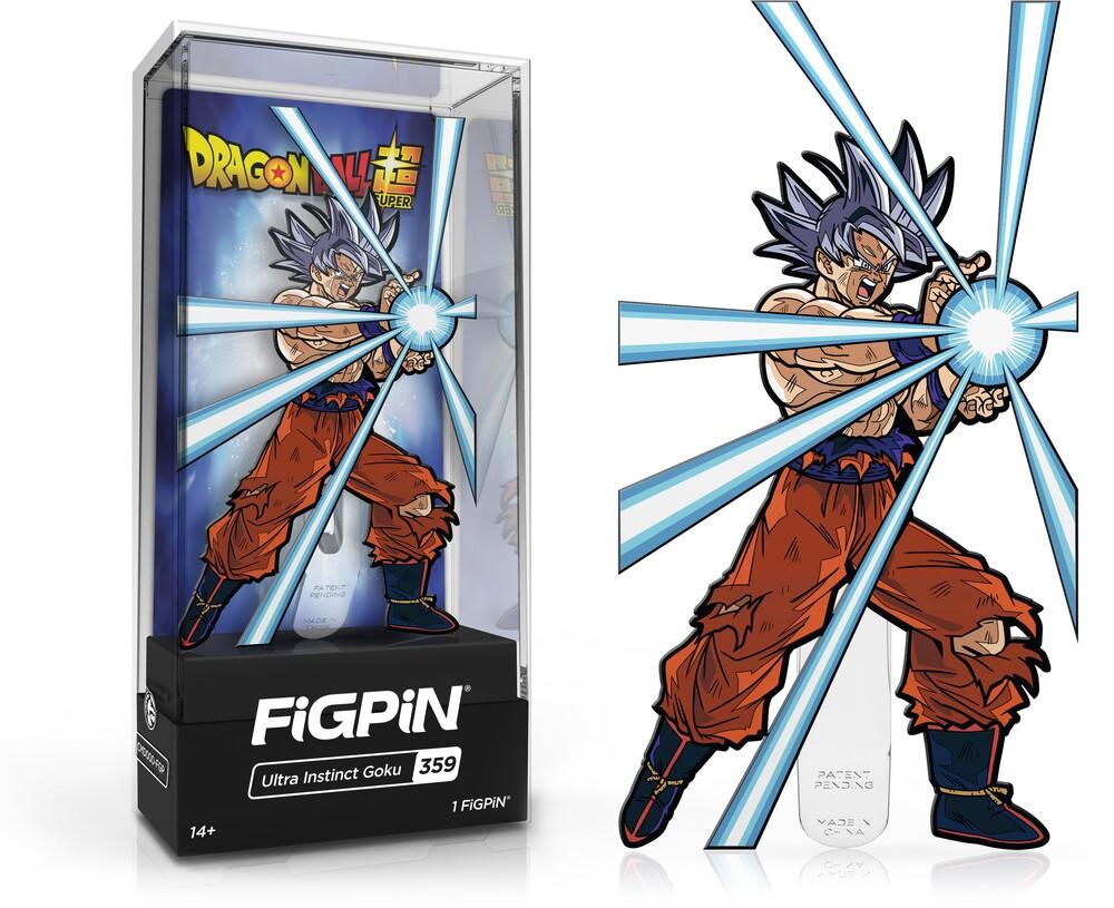 Dragon Ball Super: Ultra Instinct Goku Figpin #359 - FiGPiN - Dragon Ball Super - Ultra Instinct Goku #359