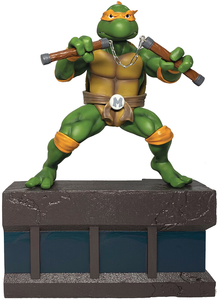 Pcs Collectibles - PCS Collectibles - TMNT Michelangelo 1:8 Scale PVC Statue