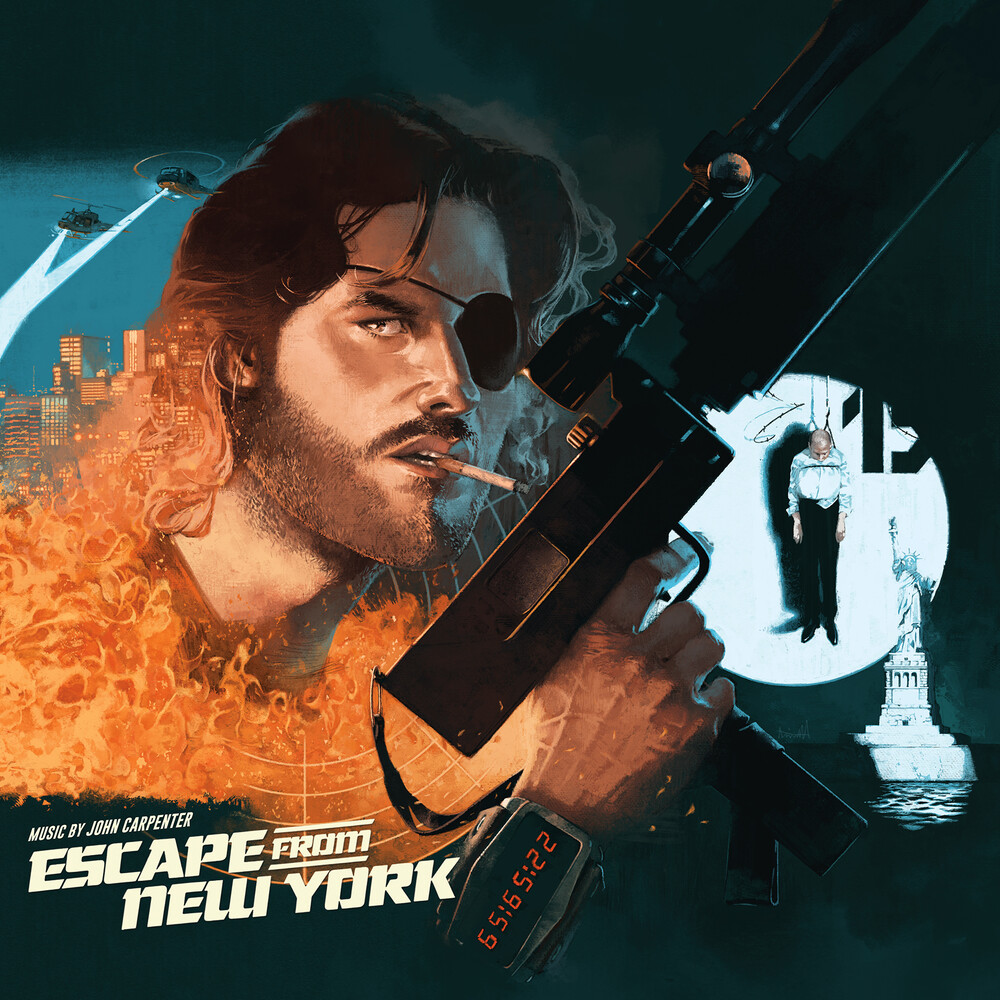 John Carpenter / Howarth,Alan Gate Ogv - Escape From New York (Expanded) / O.S.T. (Gate)
