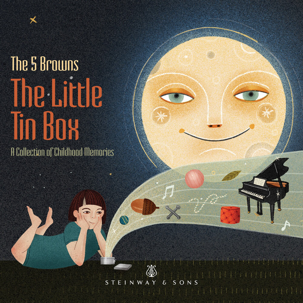 The 5 Browns - Tin Box