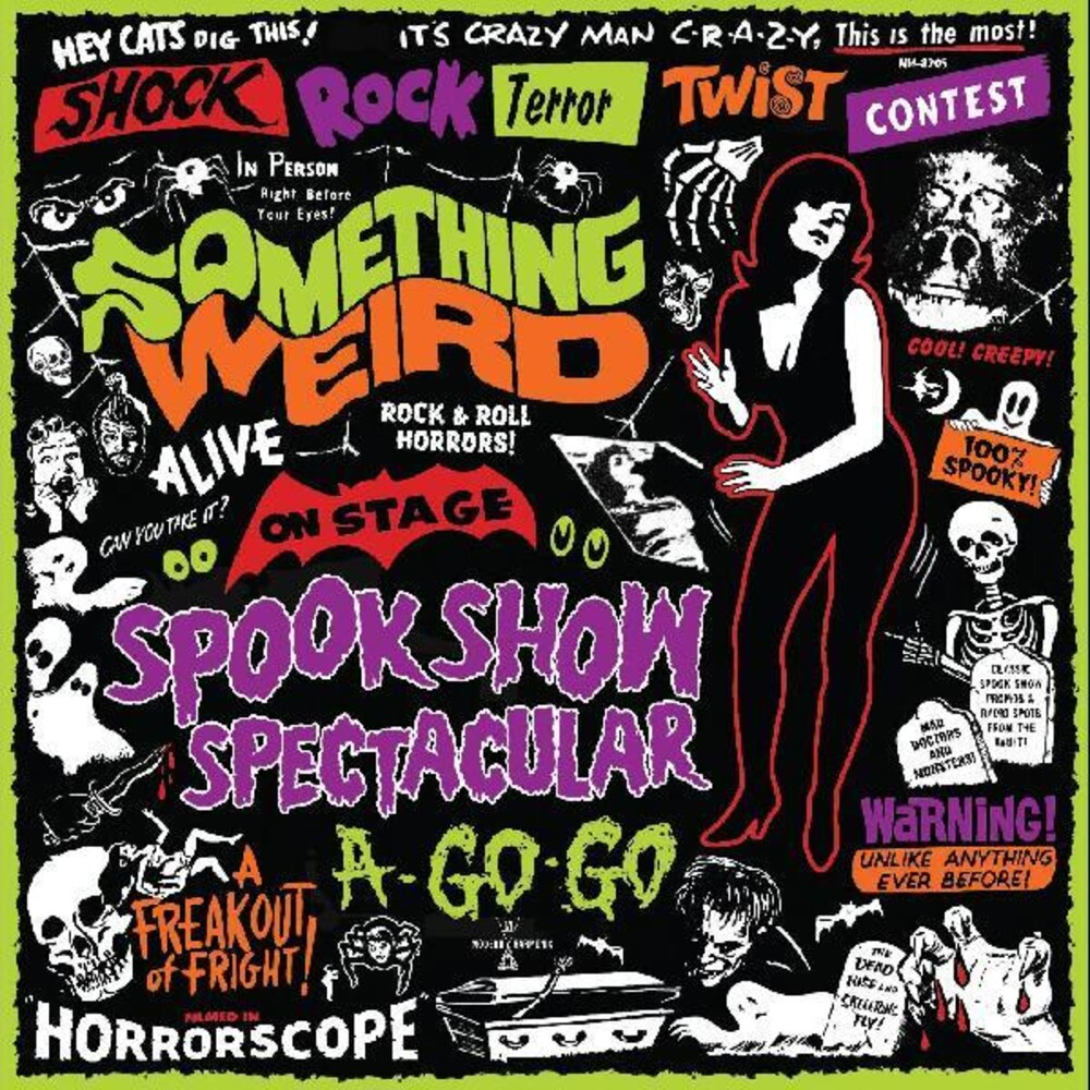 Something Weird W/Dvd Colv Grn - Spook Show Spectacular A-Go-Go (W/Dvd) [Colored Vinyl]