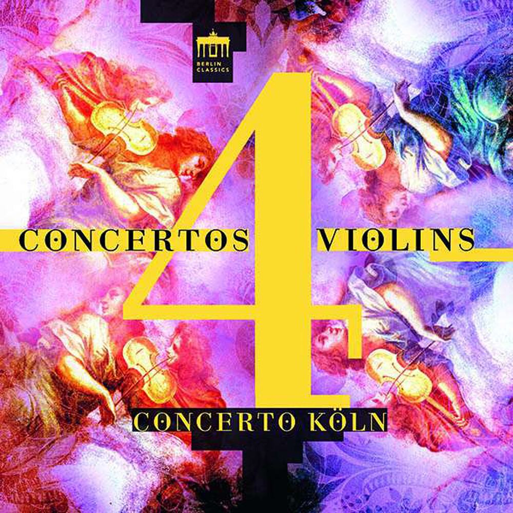 Bonporti / Concerto Koln / Sato - Concertos 4 Violins