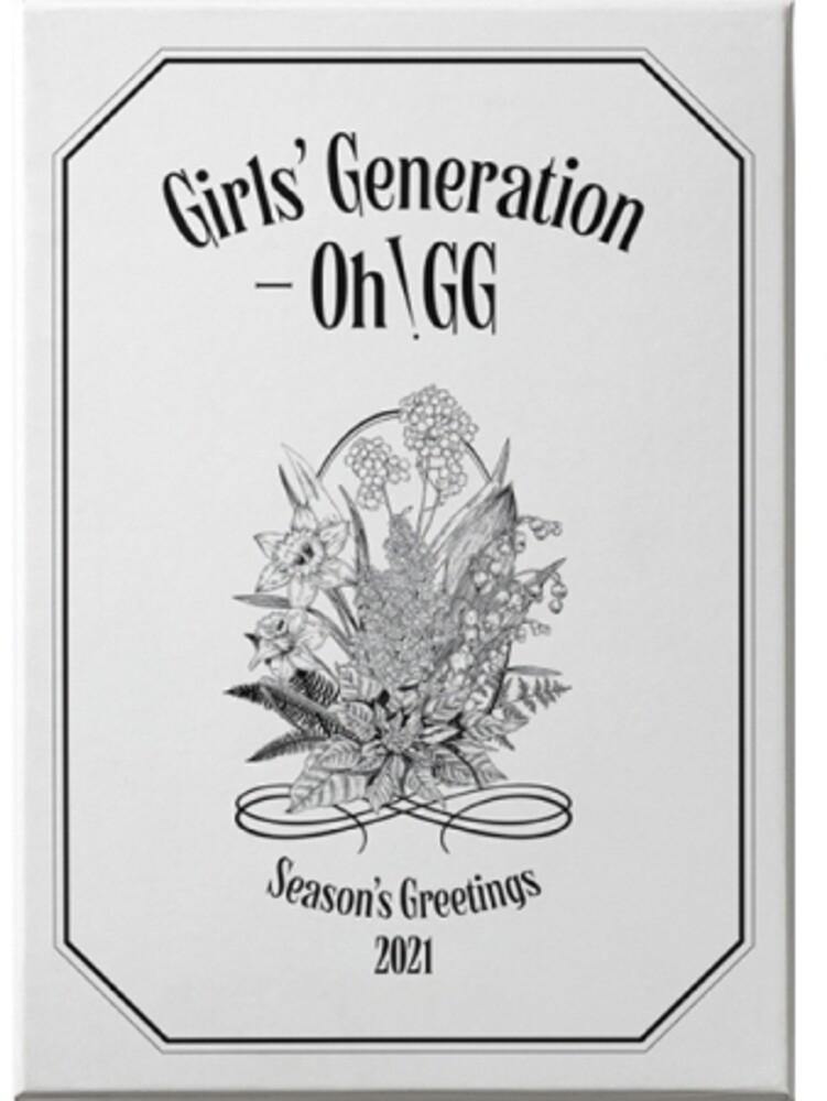 Girls' Generation - Oh!gg - 2021 Season's Greetings (incl. 2021 Desk Calendar, Hard Cover Diary, Frame+Postcard Calendar Set, Folded Poster Calendar Set, St