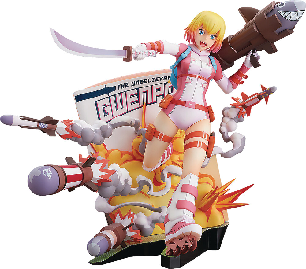 Good Smile Company - Good Smile Company - Gwenpool Breaking The Fourth Wall PVC Statue