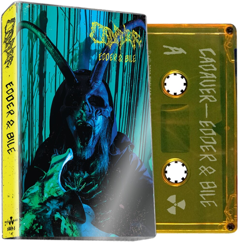Cadaver - Edder & Bile [Limited Edition Yellow Cassette]