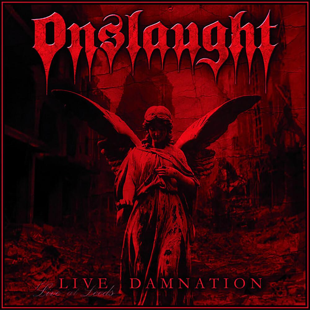Onslaught - Live Damnation [Clear Vinyl] (Uk)