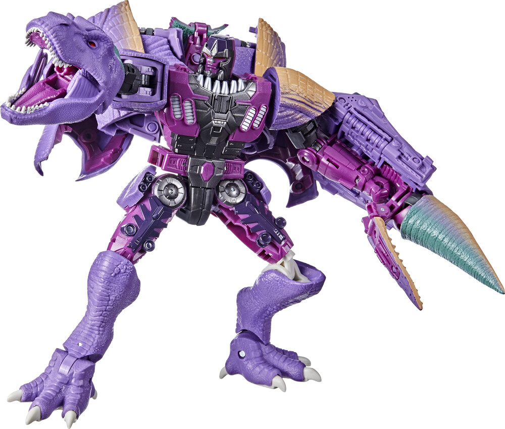 - Hasbro Collectibles - Transformers Generations War For Cybertron KLeader Trex Megatron