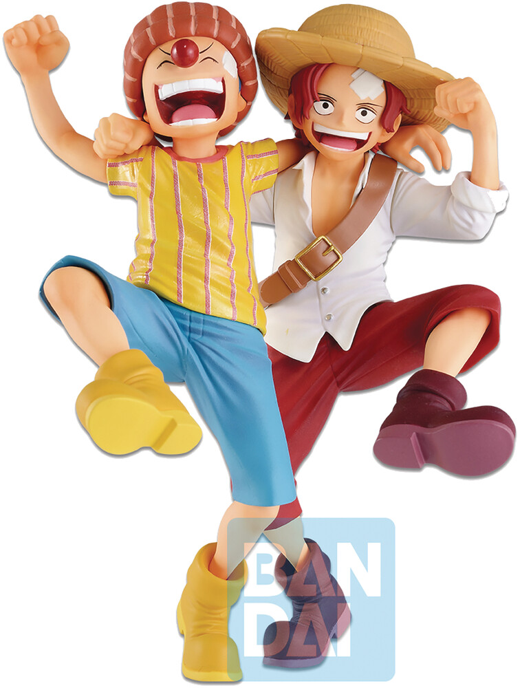 - Ichiban - One Piece - Shanks ? Buggy (Legends Over Time), Bandai Spirits Ichibansho Figure