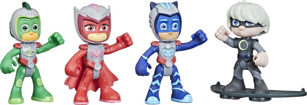 Pjm Hero vs Villain 4 Pack Asst Space - Hasbro Collectibles - Pj Masks Hero Vs Villian 4 Pacxk AssortmentSpace