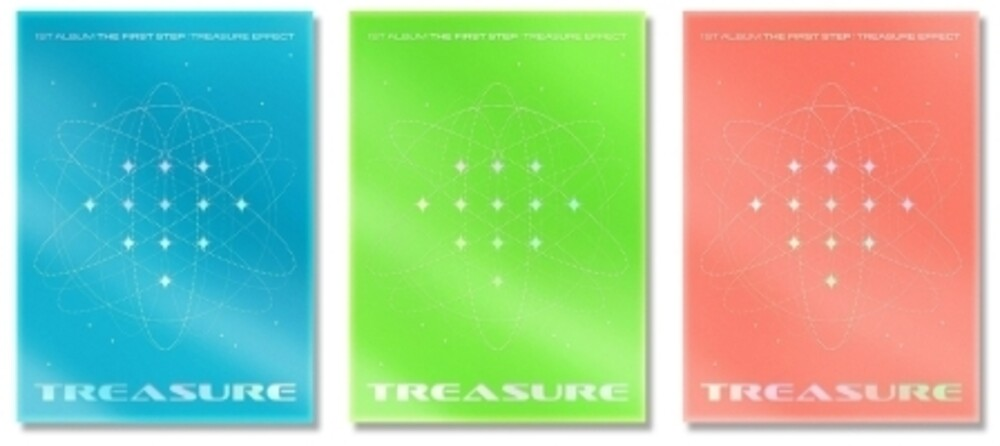 Treasure - The First Step : Treasure Effect (Random Cover) (incl. 156pg Photobook, Photocard File Folder, Lyrics Postcard Set, Hologram Pos