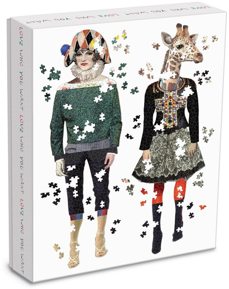 - Christian Lacroix Heritage Collection Love Who You Want 750 Piece Shaped Puzzle Set