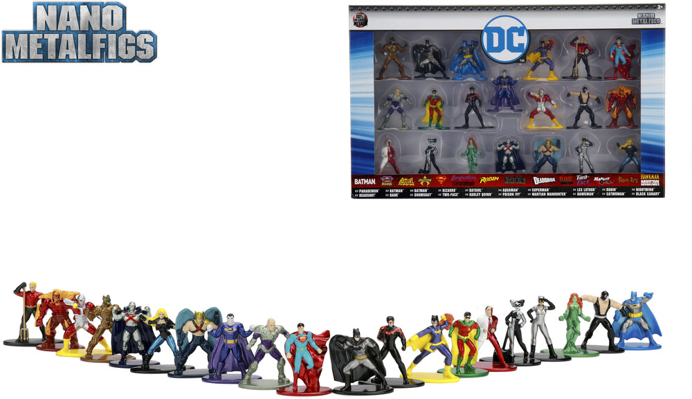- Nano Metalfigs Dc 20 Pk Wave 2 (Clcb) (Fig)