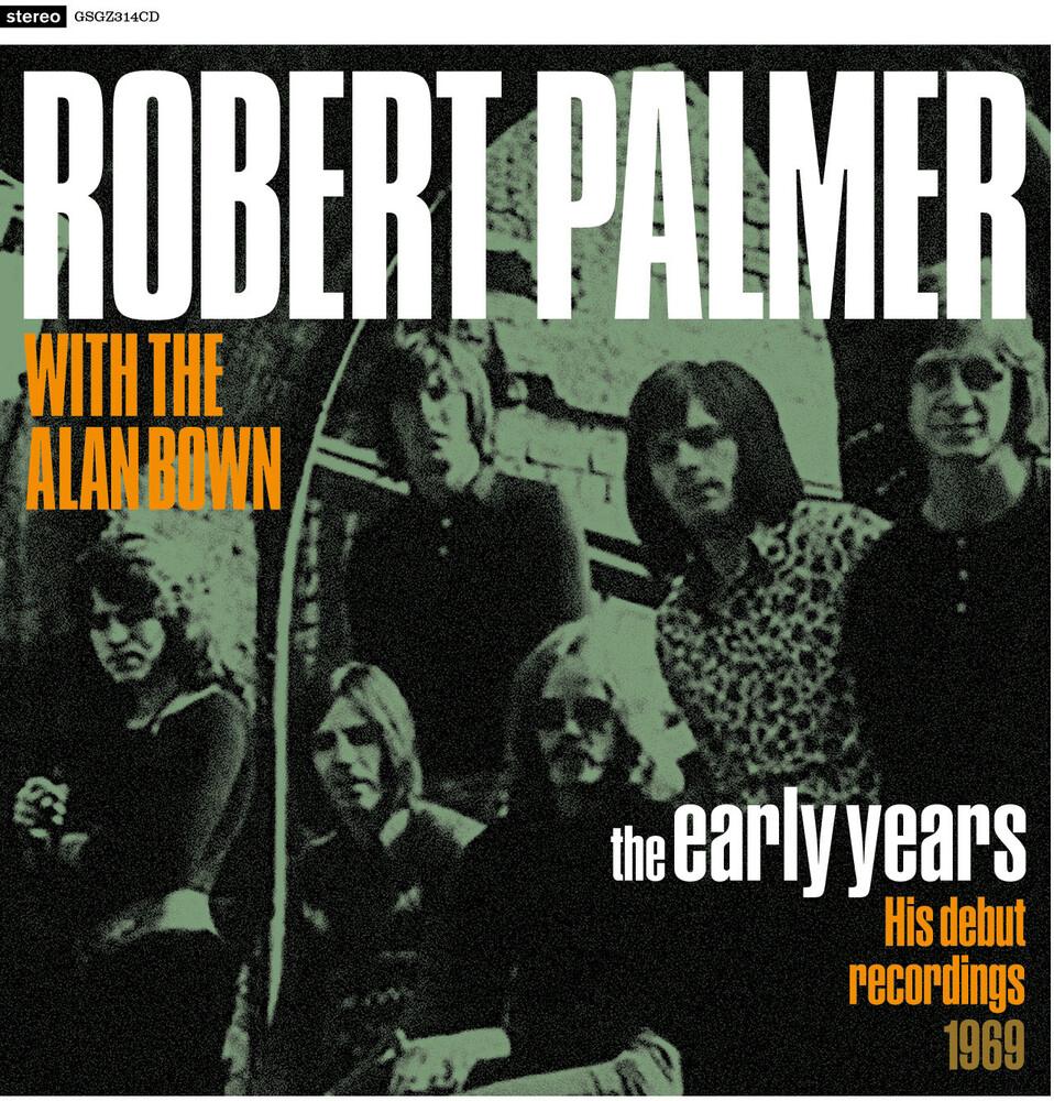 Robert Palmer - Early Years