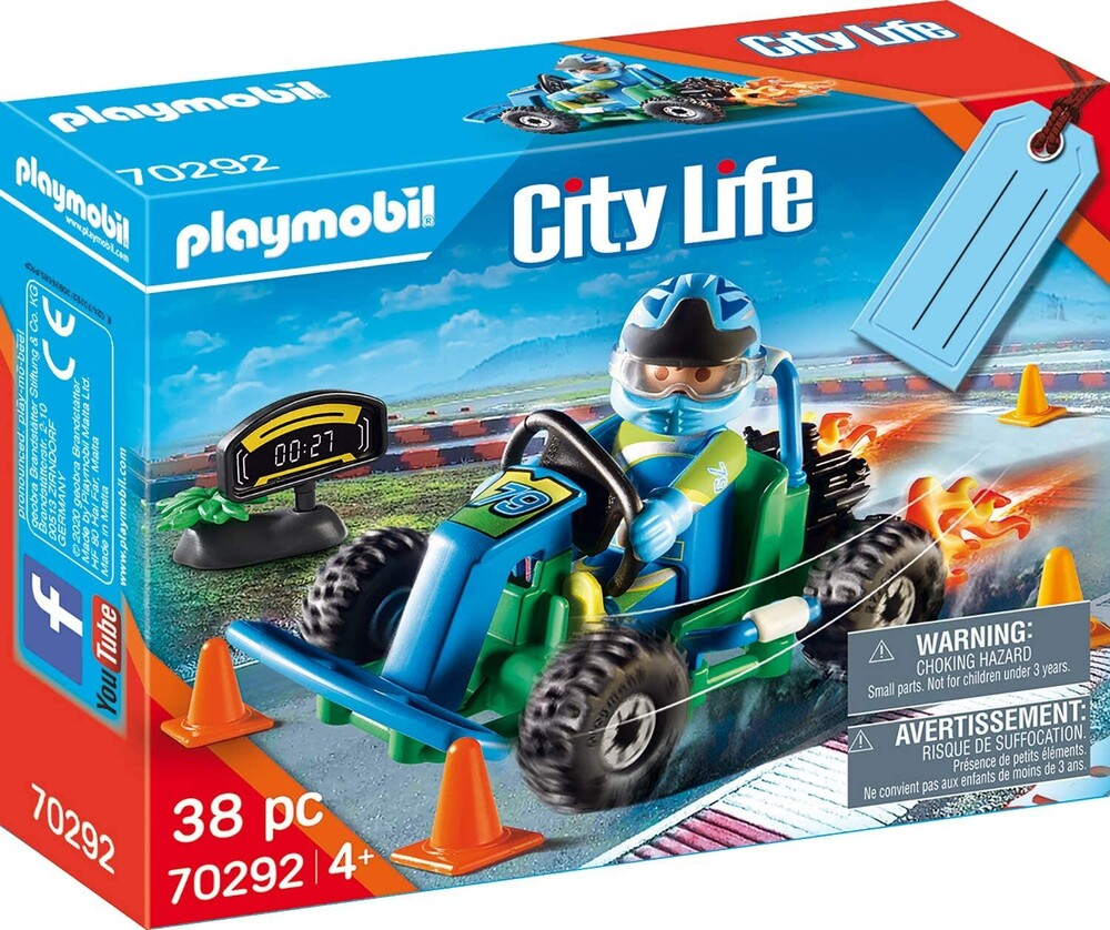 - City Life Go Kart Racer Gift Set (Fig)