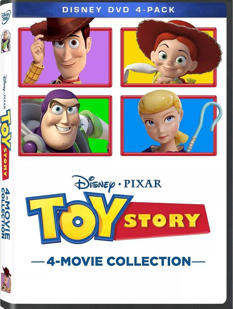 - Toy Story: 4-Movie Collection (4pc) / (Ac3 Dol)