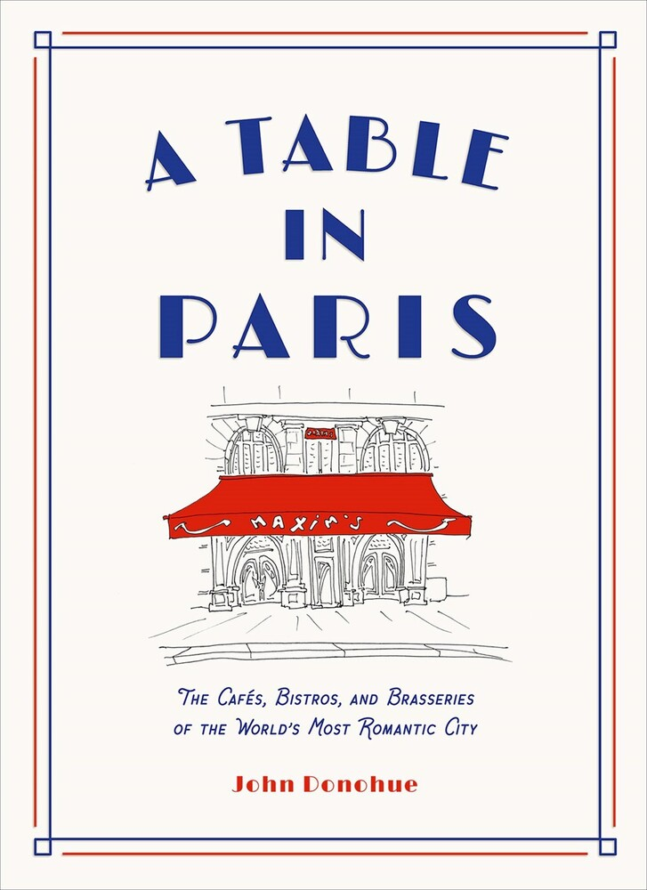 John Donohue - Table In Paris (Hcvr) (Ill)