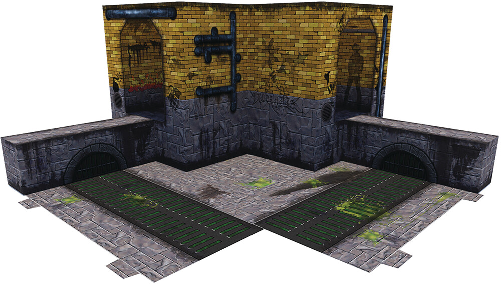 - Extreme Sets Animated Sewer Pop Up 1/12 Diorama
