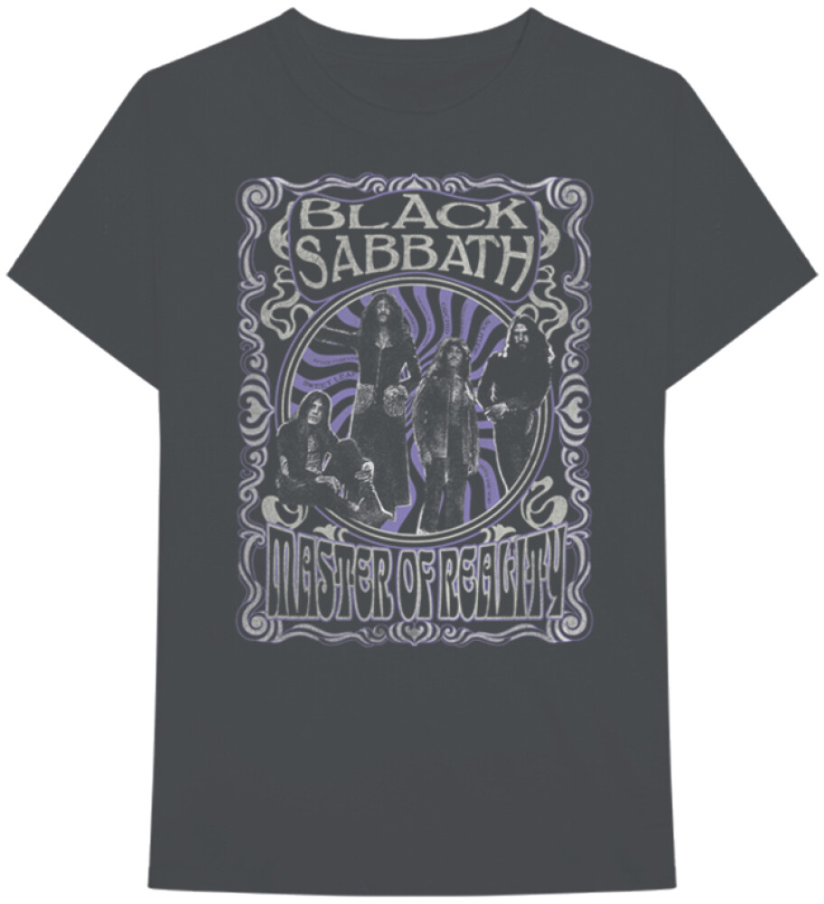 - Black Sabbath Master Of Reality Black Ss Tee L