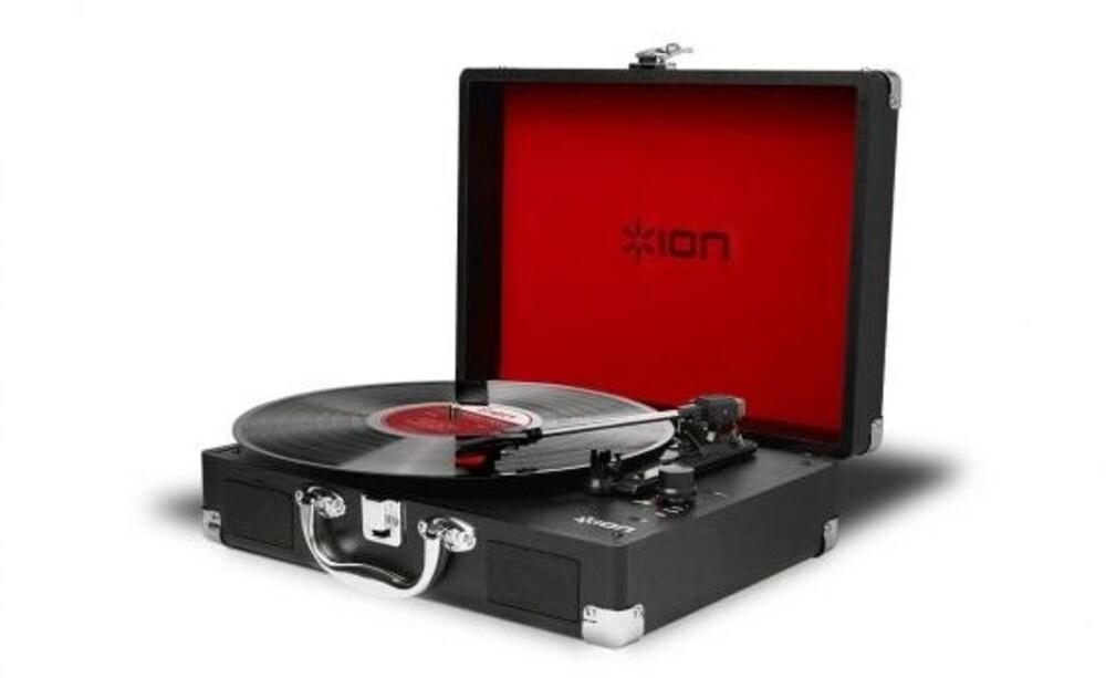 - Ion Vinylmotionair Bt Turntable Suitcase Black