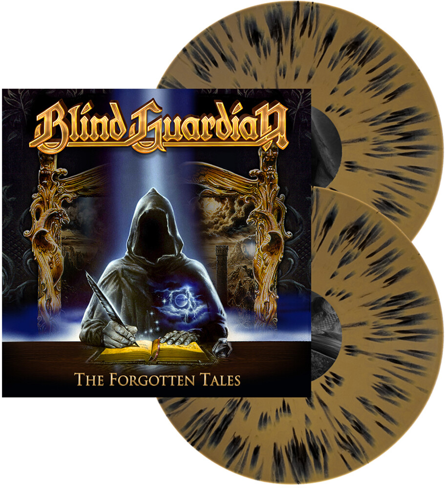 Blind Guardian - Forgotten Tales (Gold W/Black Splatter Vinyl)