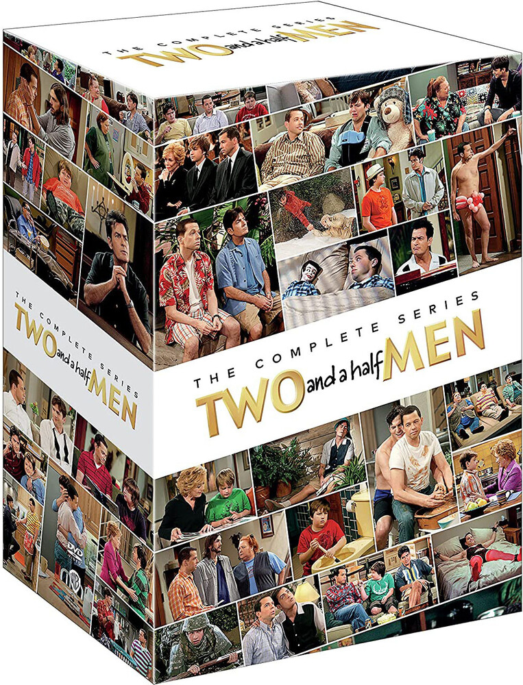 Two a Half Men: Complete Series - Two A Half Men: Complete Series (39pc) / (Box)