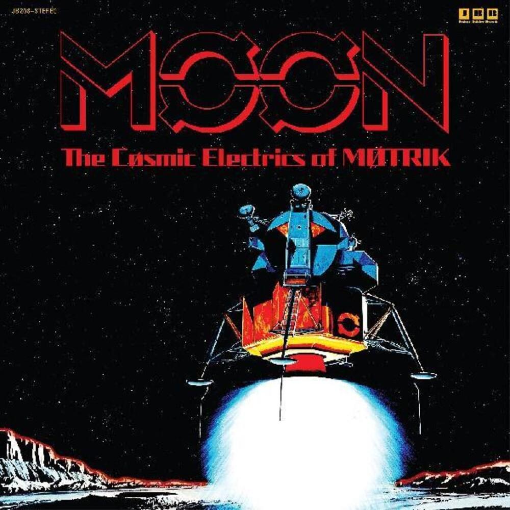 Motrik - Moon: The Cosmic Electrics Of Motrik (Blue) [Colored Vinyl]