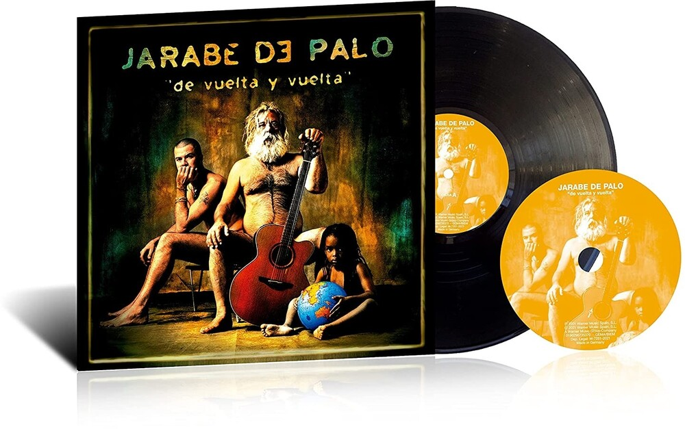 Jarabe De Palo - De Vuelta Y Vuelta (LP + CD)