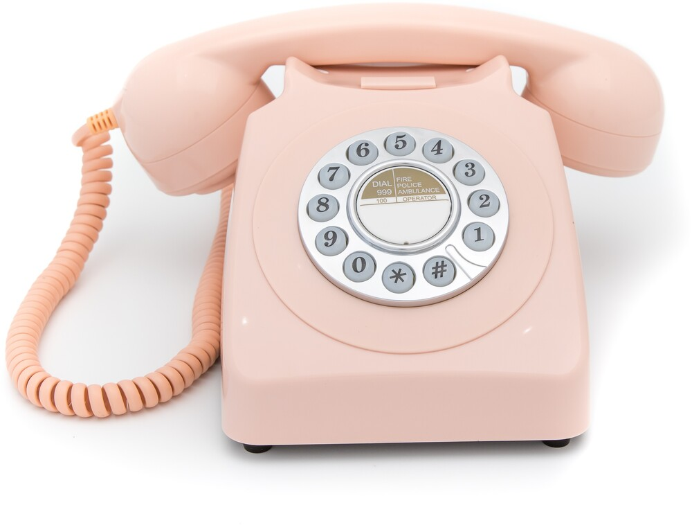 Gpo Gpo746Dpbpn 746 Desktop Push-Button Phone Pink - Gpo Gpo746dpbpn 746 Desktop Push-Button Phone Pink