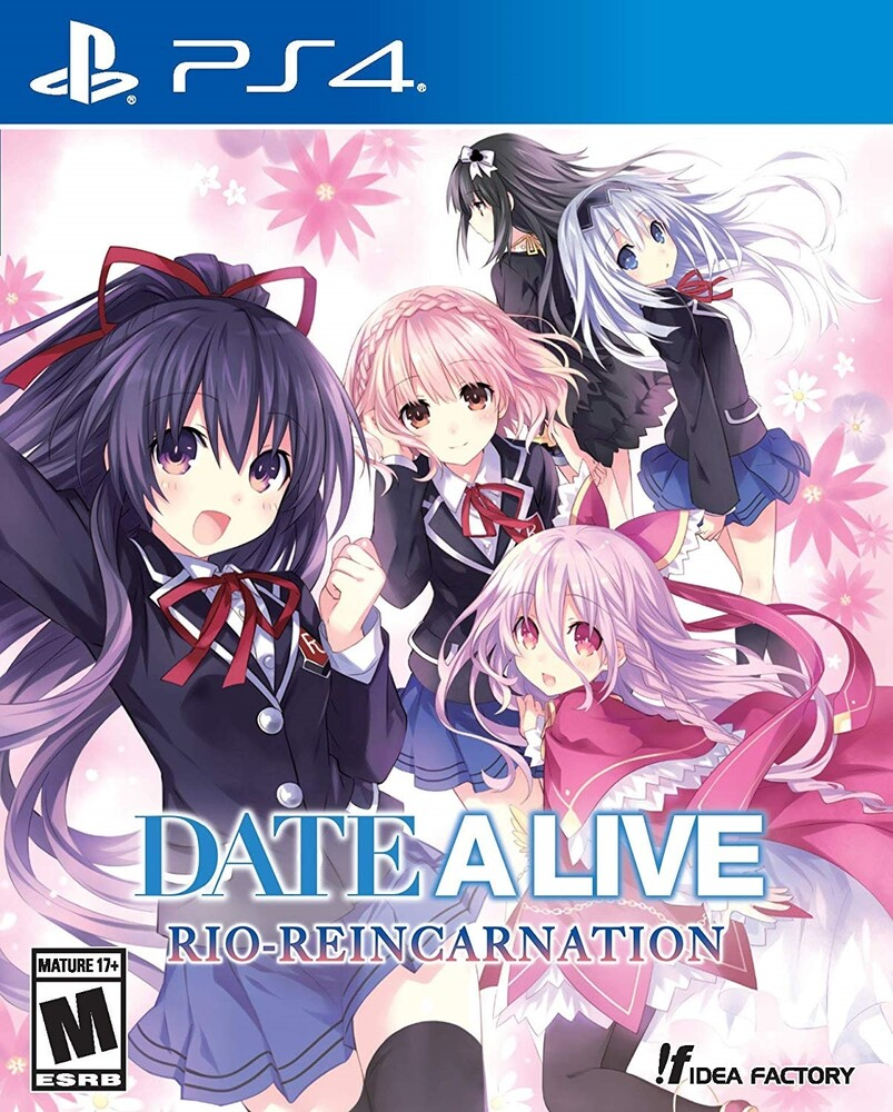 - DATE A LIVE: RIO Reincarnation for PlayStation 4