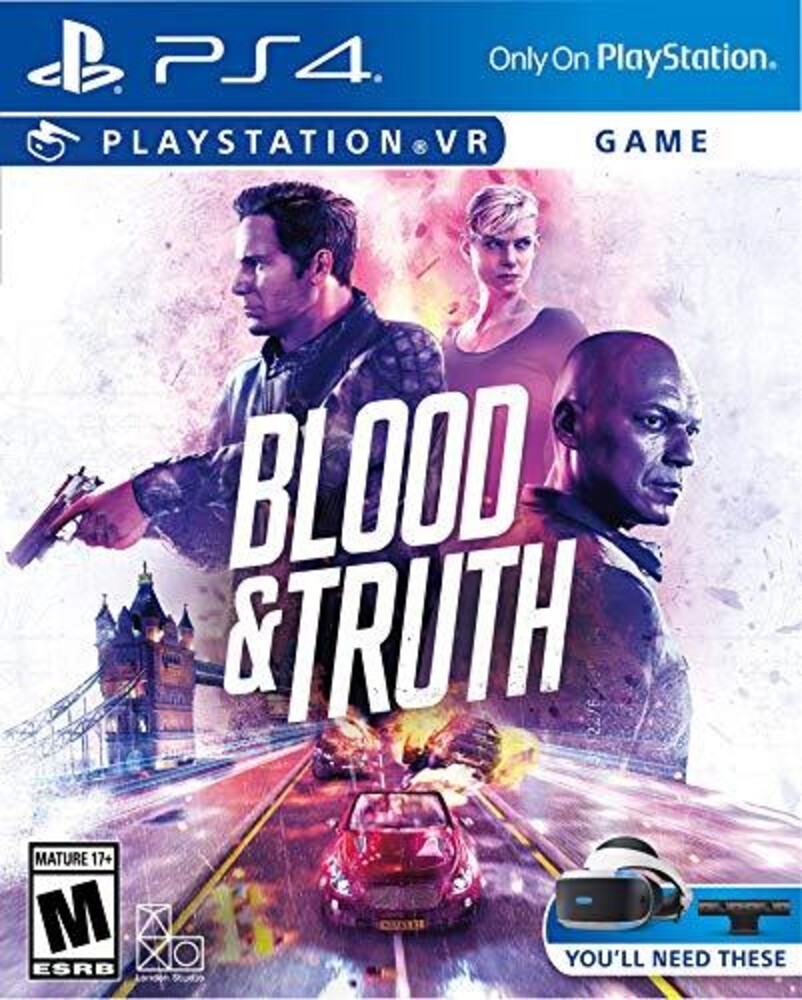 Pvr Blood & Truth Vr - Blood & Truth VR for PlayStation 4