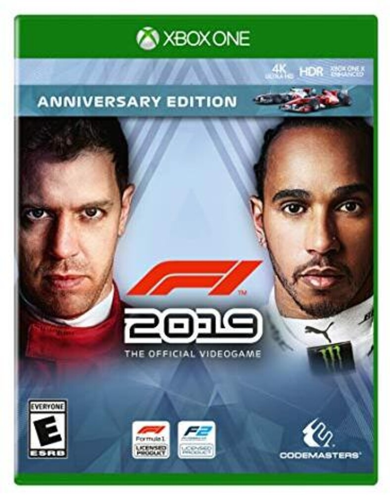 - F1 2019 Anniversary Edition for Xbox One