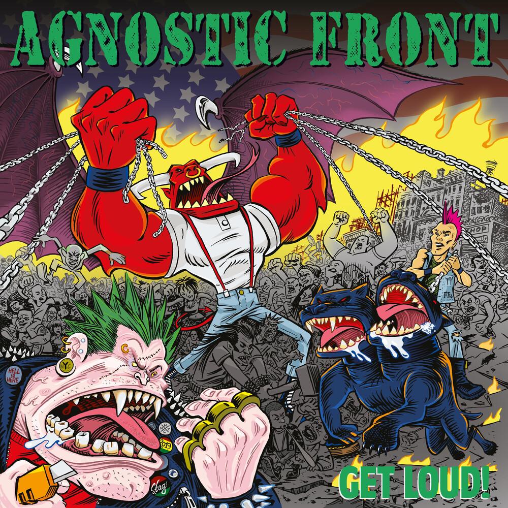 Agnostic Front - Get Loud! [Red LP]