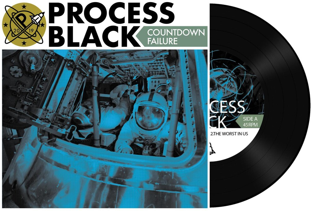 Process Black - Countdown Failure EP [Vinyl]