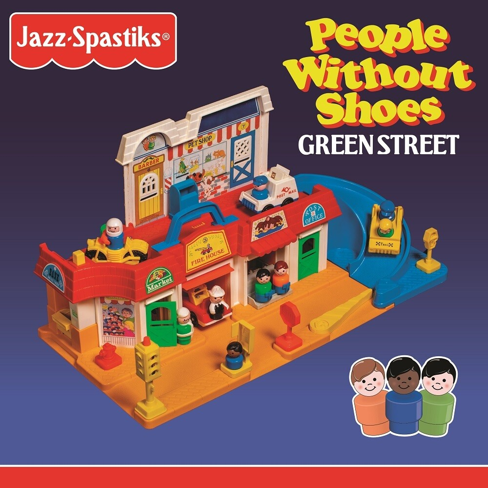Jazz Spastiks & People Without Shoes - Green Street (Blk)