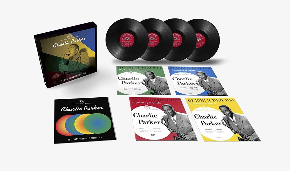 Charlie Parker - The Savoy 10-inch LP Collection [4 Disc Deluxe Box Set]