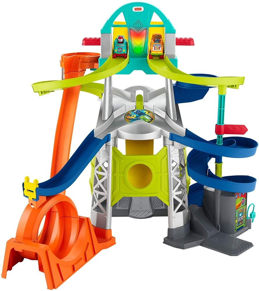 Little People - Fisher Price - Little People Wheelies Playset
