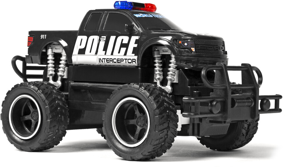 Rc Vehicles - Ford F-150 Police 1:24 RTR Electric RC Monster Truck