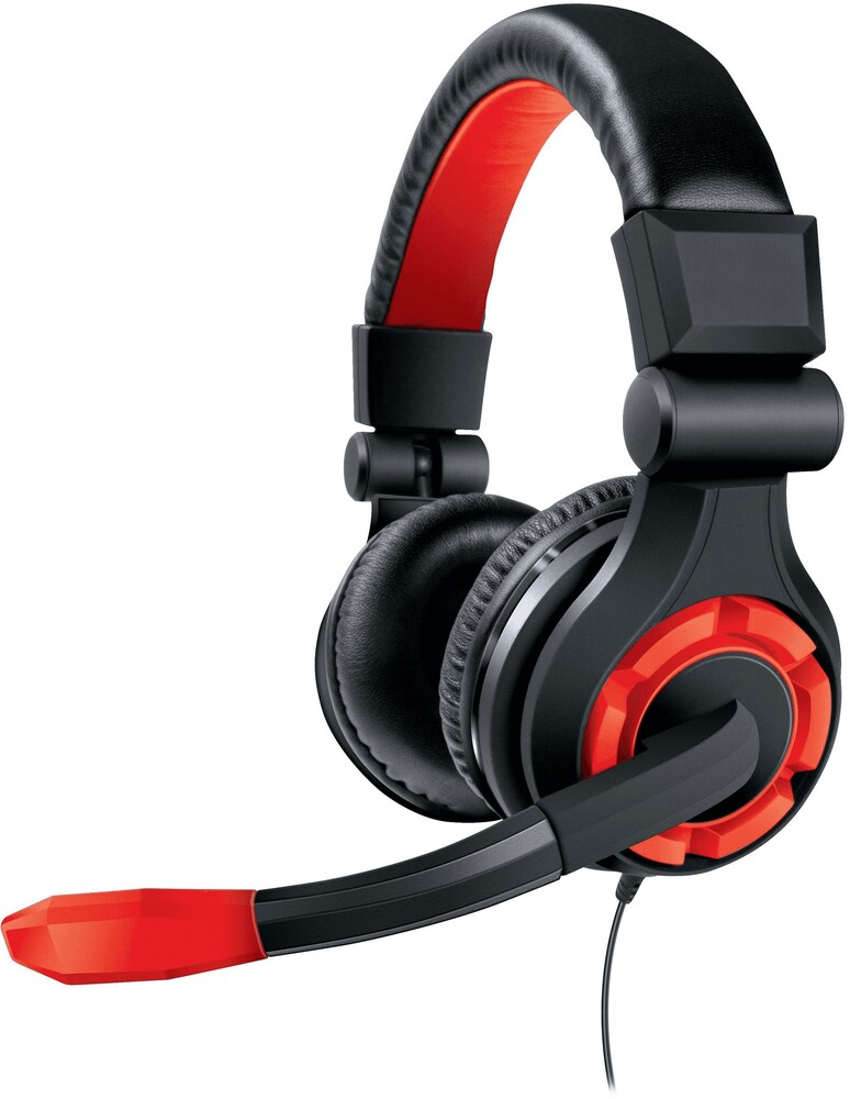 - DreamGear DGUN-2588 GRX-670 Univeral High Performance Gaming Headsetwith Boom Microphone (Black/Red)