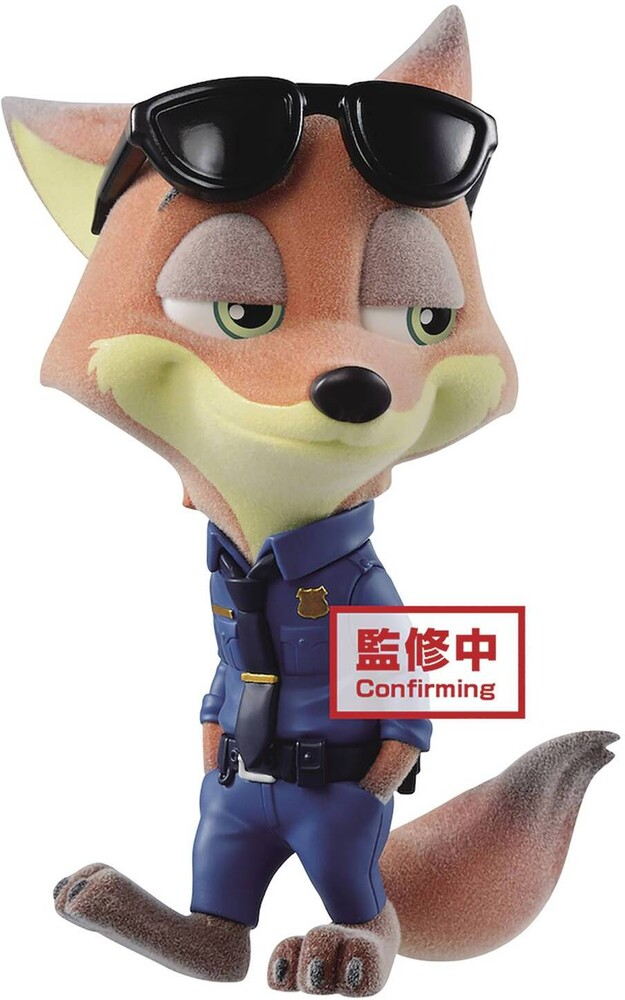 Banpresto - BanPresto - Disney Fluffy Puffy - Nick & Judy - Nick Police Costume Figure