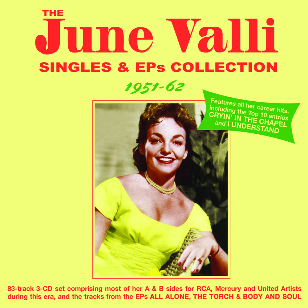 June Valli - Singles & Eps Collection 1951-62