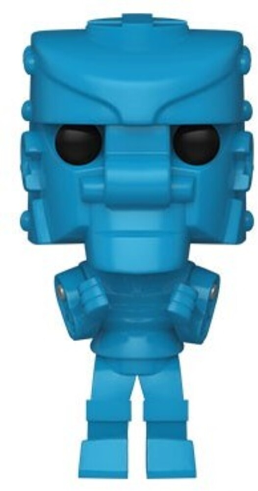 - FUNKO POP! VINYL: Mattel- RockEm SockEm Robot (Blue)