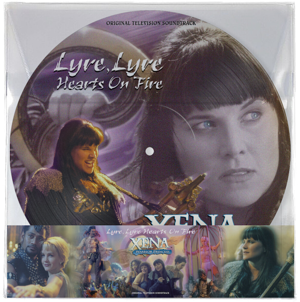 Various Artists - Xena: Warrior Princess - Lyre, Lyre Hearts On Fire [Picture Disc LP]