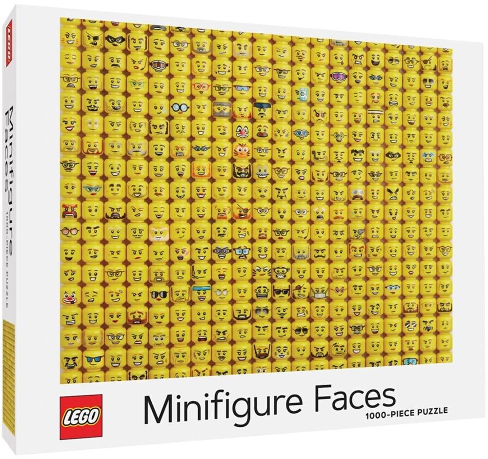 Lego / Clair, Michelle / Ortiz, Lydia - LEGO Minifigure Faces Puzzle