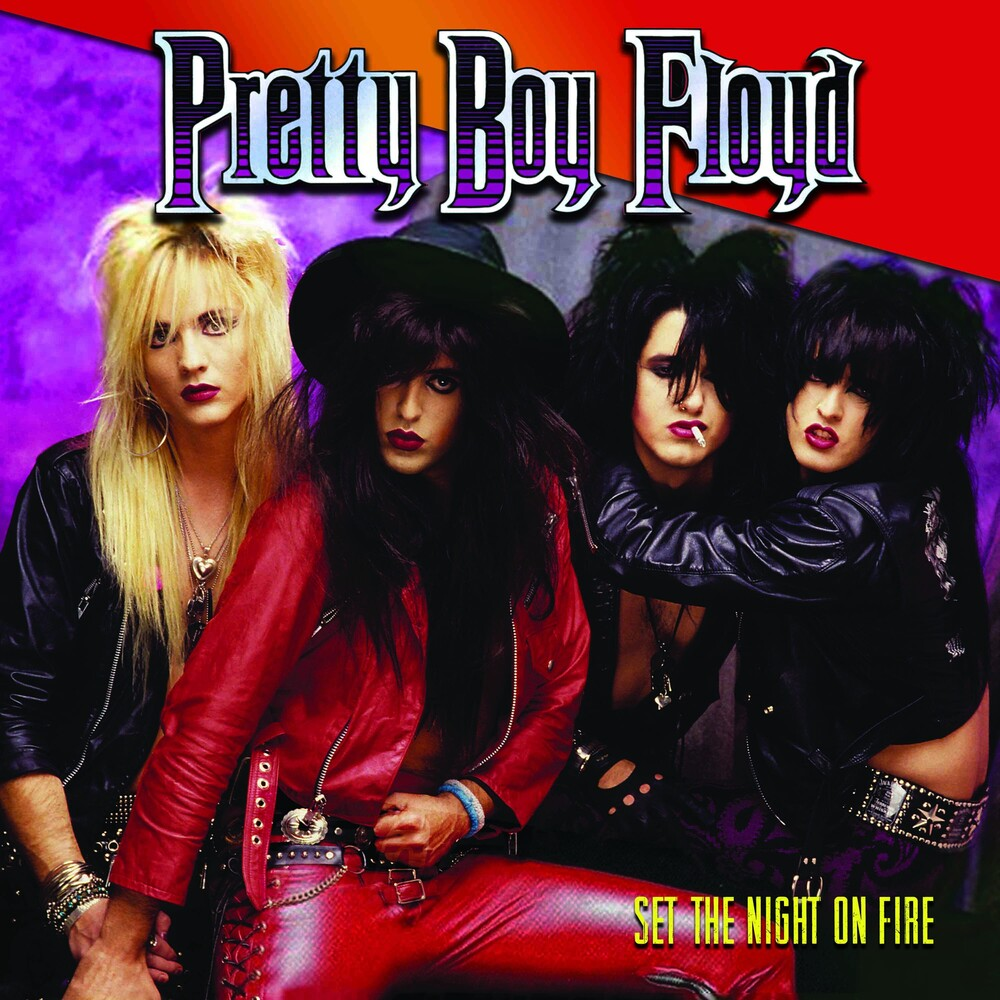 Pretty Boy Floyd - Set The Night On Fire (Colv) (Ltd) (Pnk) (Red)