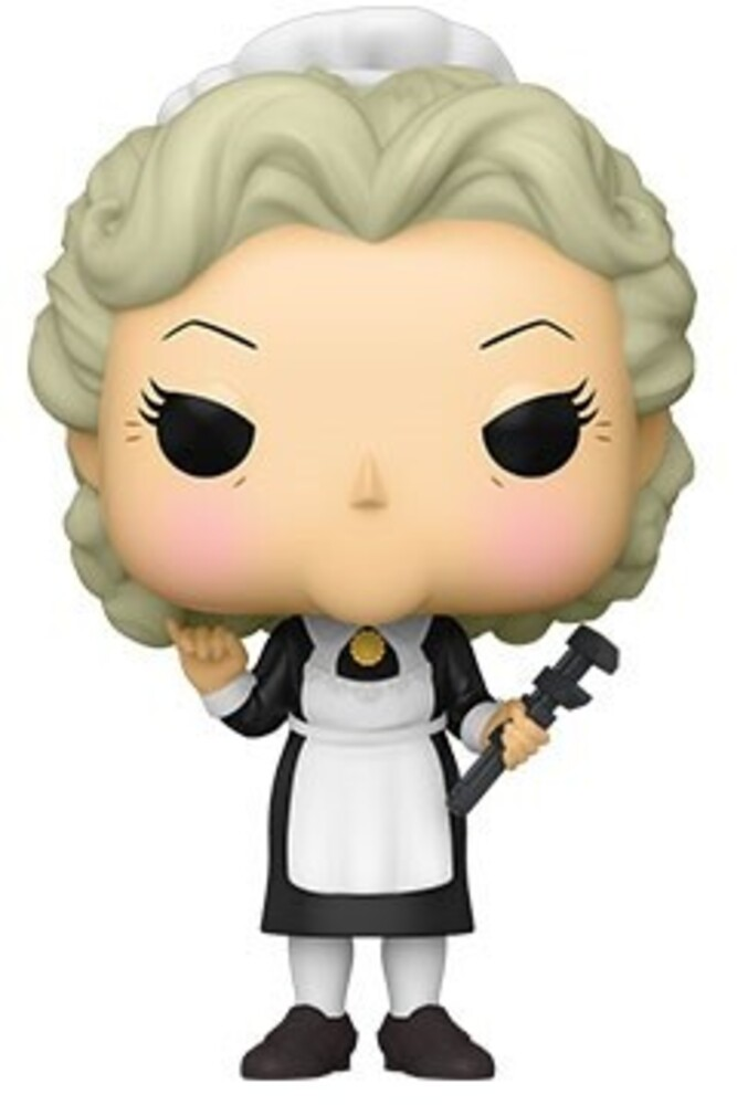Funko Pop! Vinyl: - FUNKO POP! VINYL: Clue- Mrs. White w/Wrench