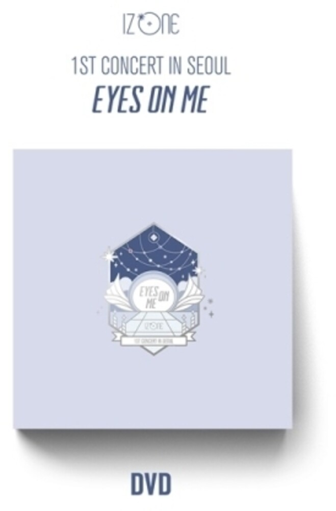 IZ*ONE - Eyes on Me (1st Concert in Seoul) (3 DVD, incl. 120pg Photobook, PaperFrame + 12pc Photocard Set)