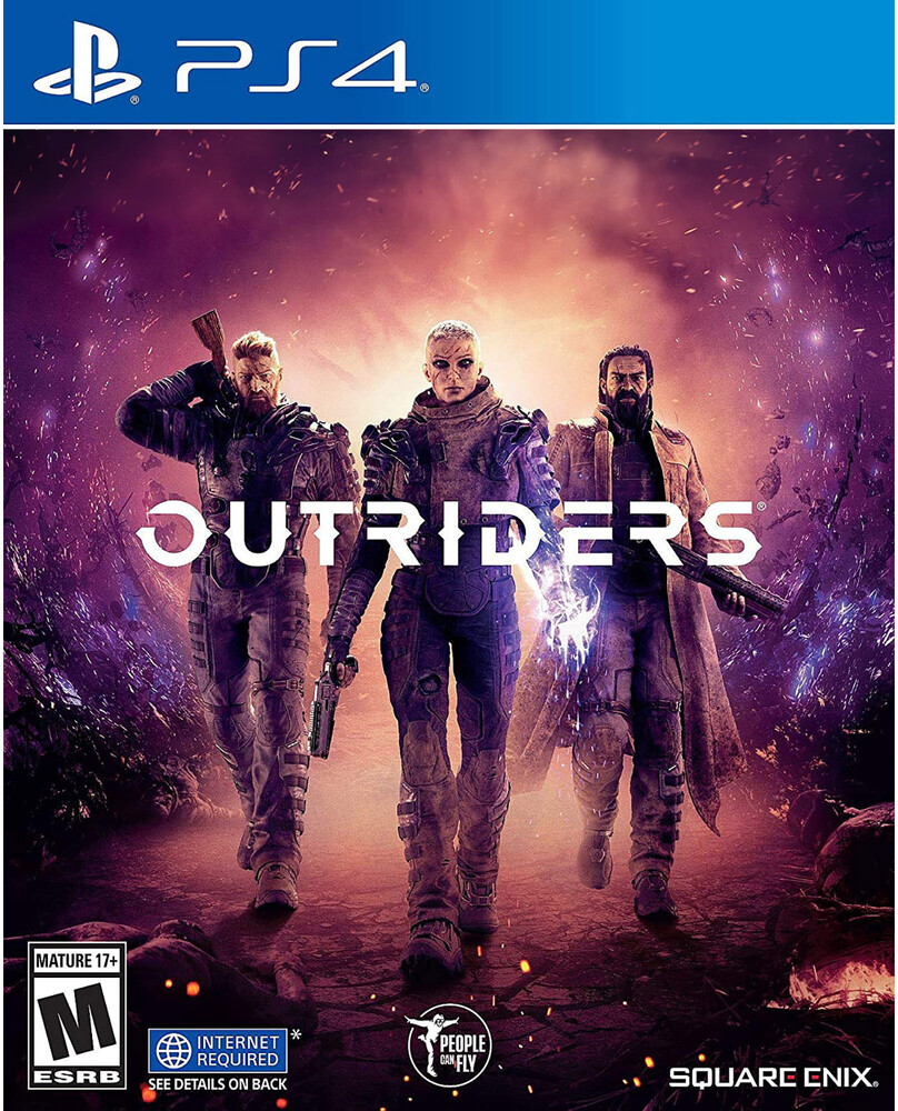 Ps4 Outriders - Replen - Outriders for PlayStation 4