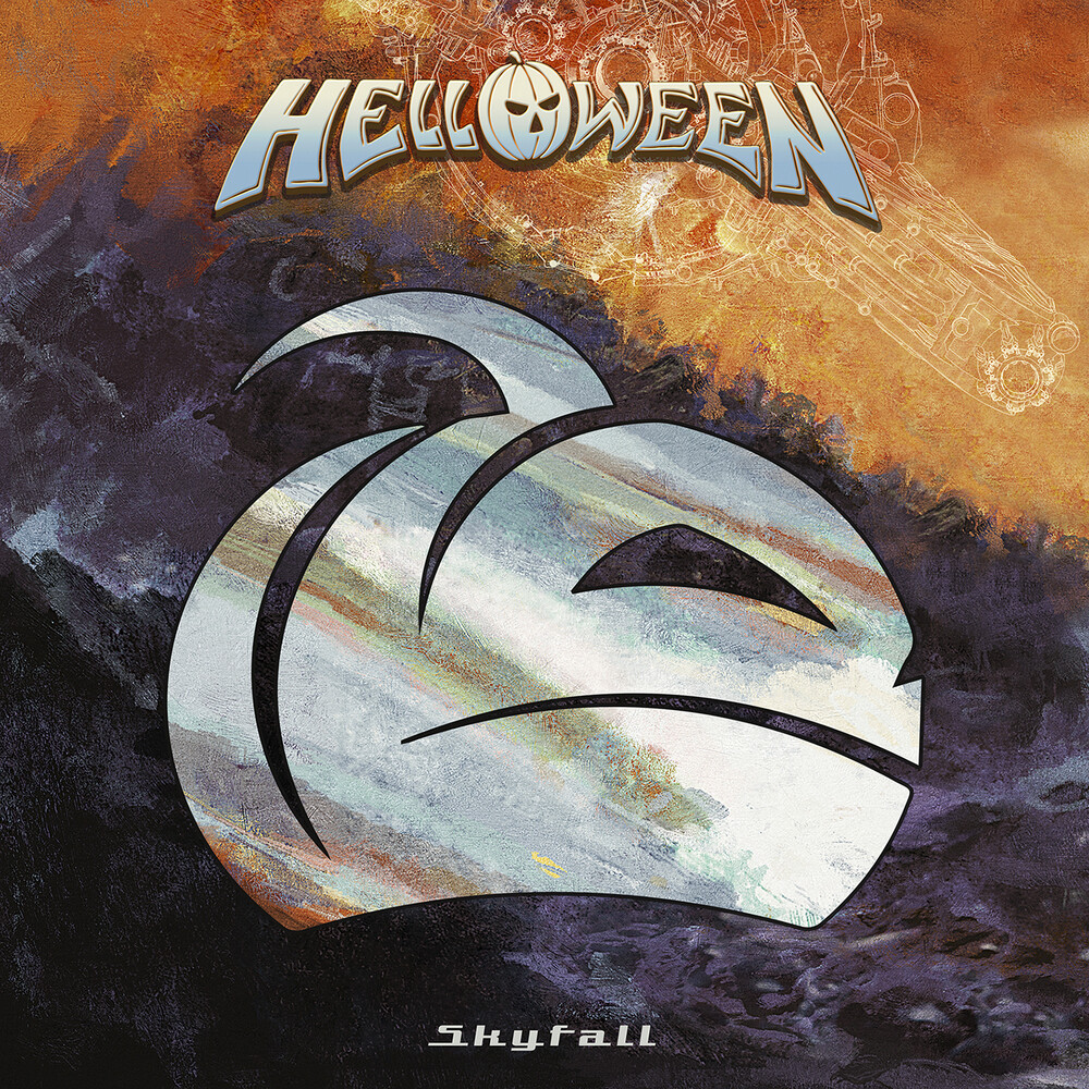 Helloween - Skyfall (Orange Transparent) (Gate) (Org)