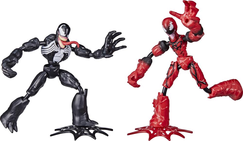 Spd Bend and Flex Battle Pack - Hasbro Collectibles - Marvel Spider-Man Bend And Flex Battle Pack